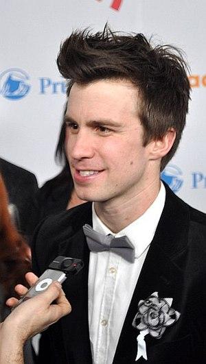 Gavin Creel - Creel at the 21st GLAAD Media Awards in 2010