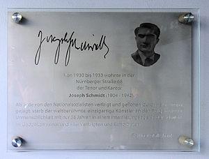 Joseph Schmidt - Memory plaque at Haus Nürnberger Straße 68 in Berlin-Schöneberg