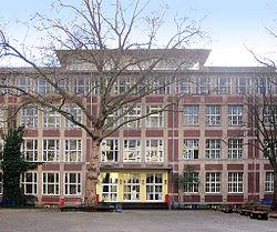 Gemeinschaftsgrundschule Antwerpener Straße, Ansicht von Norden