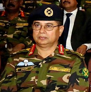 Shafiul Huq (general) - Huq in 2017