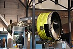 General Electric CF6 high-bypass turbofan engine - Smithsonian Air and Space Museum - 2012-05-15 (7276904338).jpg