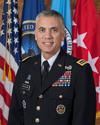 National Security Agency - Paul M. Nakasone, the director of the NSA.