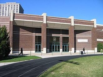 Joseph J. Gentile Arena - Image: Gentile Center OUTSIDE