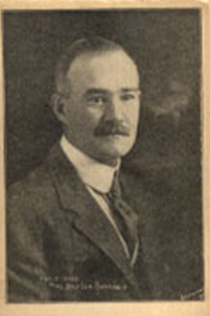 George Dovey - George Dovey pictured on a 1907 postcard