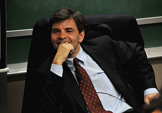 George Stephanopoulos American government official, journalist, writer