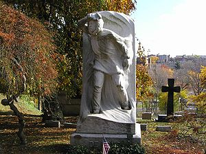 George W. De Long - The grave of George Washington De Long