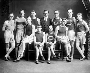 Georgetown Hoyas - The 1910 Georgetown varsity track team