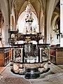 Germany Luebeck St Aegidien baptismal font.jpg
