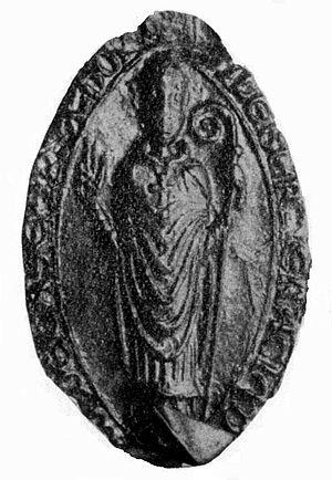 Gilbert of Glenluce - Bishop Gilbert's seal
