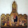 Giovanni del Biondo, incoronazone della vergine, 1374 ca. 01.jpg