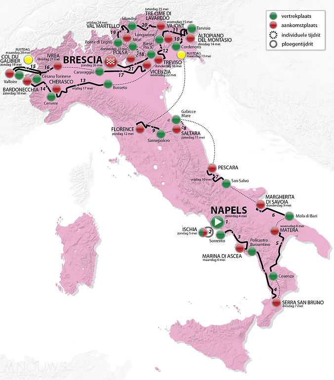 Giro Map - source M.Nouws CCA Share Alike