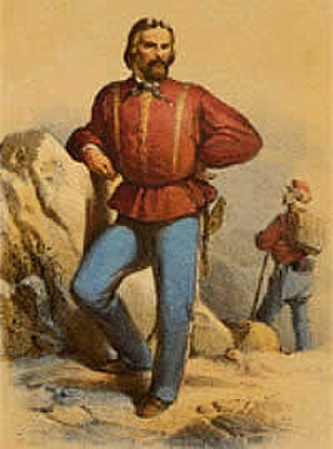 Giuseppe Sirtori - Sirtori portrayed during the Expedition of the Thousand.