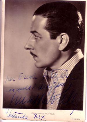 Giuseppe Porelli - Porelli in 1941