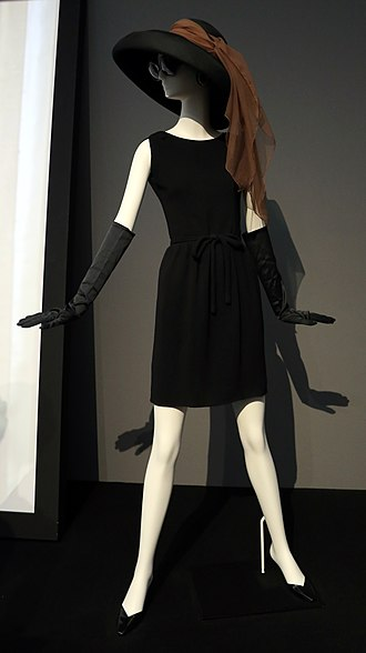Givenchy - Givenchy short dress and hat worn by Audrey Hepburn in 1961 movie Breakfast at Tiffany's
