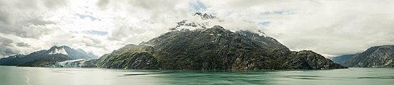 Glaciar Lamplugh, Parque Nacional Bahía del Glaciar, Alaska, Estados Unidos, 2017-08-19, DD 96-100 PAN.jpg