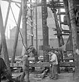 Glasgow Shipyard- Shipbuilding in Wartime, Glasgow, Lanarkshire, Scotland, UK, 1944 D20840.jpg
