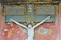 Gnesau Zedlitzdorf Friedhofskapelle Inschrift ueber Kruzifix 23112012 335.jpg
