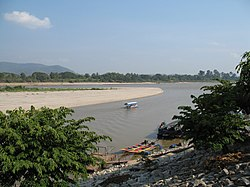 The Golden Triangle in Amphoe Chiang Saen