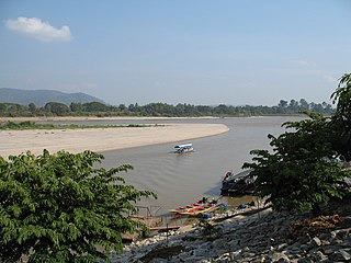 Chiang Saen District District in Chiang Rai, Thailand