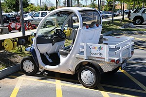 Neighborhood Electric Vehicle - Image: Google Electric Car Seciurity 2008 2592452314 780b 7871e 1 o