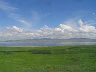 Gusinoozyorsk - Lake Gusinoye south of the town