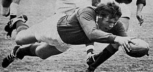 Gordon Brown (rugby union) - Scottish Lock Gordon Brown's Try against Western Transvaal 1974