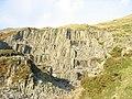 Gorseddau Quarry - a short lived venture - geograph.org.uk - 283317.jpg
