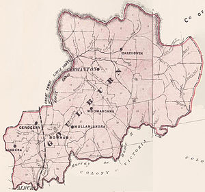 Goulburn county 1886