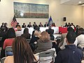 Gov. Malloy and Commissioner Wentzell Host U.S. Education Secretary King for Roundtable Discussion at New Haven's Wilbur Cross High School (31747876205).jpg