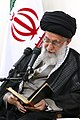 Government's yearly Ramadhan meeting with Ayatollah Ali Khamenei 04.jpg
