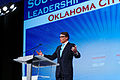 Governor of Texas Rick Perry at Southern Republican Leadership Conference, Oklahoma City, OK May 2015 by Michael Vadon 03.jpg