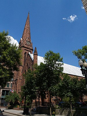 Grace Church (Providence, Rhode Island) - 2007 view