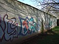 Graffiti at Earl Richards Road North campus - geograph.org.uk - 364946.jpg