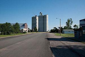 Nekoma, North Dakota - Grain Elevator in Nekoma
