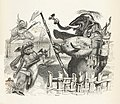 Grandville - Fables de La Fontaine - 12-21 . L'Éléphant et le Singe de Jupiter.jpg