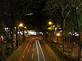 Granville Road at night.jpg