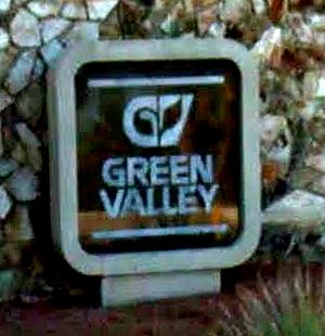 Green Valley, Henderson - Original Green Valley Entrance Marker