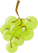 Green grapes icon.svg
