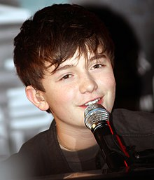 Greyson Chance saat konser pada Hard Rock Cafe di Boston, Massachusetts pada 20 September 2011