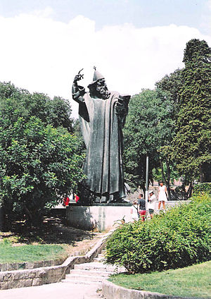 Ivan Meštrović - Statue of Gregory of Nin, in Split, Croatia, 1929