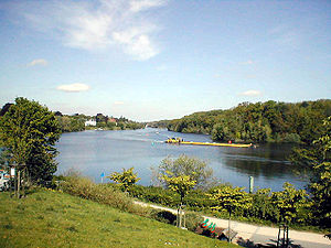 Griebnitzsee - View of Griebnitzsee