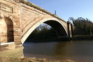 Thomas Harrison (architect) - Image: Grosvenor Bridge(2)