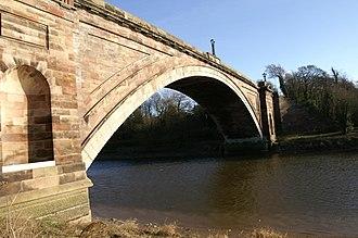 Thomas Harrison (architect) - Image: Grosvenor Bridge(2)
