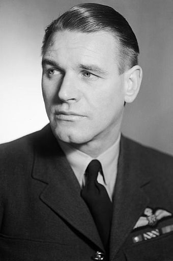 "South African Adolph ""Sailor"" Malan led No. 74 Squadron RAF and was, at the time, the RAF's leading ace, with 27 planes destroyed, 7 shared, 2 unconfirmed, 3 probables and 16 damaged. Group Captain A G Malan WWII IWM CH 12661.jpg"