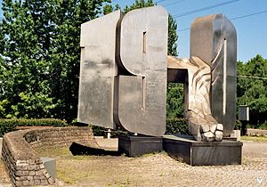 1970 Polish protests - Monument to victims of December 1970 in Gdynia