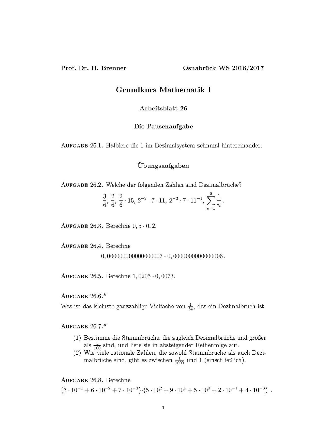 Famous Kleinstes Gemeinsames Pdf Mehrere Arbeitsblatt Pattern ...