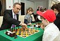 Grzegorz Czelej Młodzieżowy turniej szachowy na rzecz Polonii Senat 2014.JPG