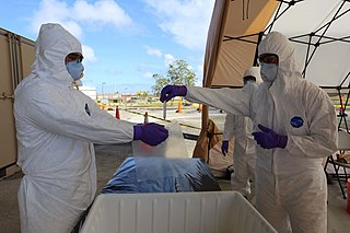 COVID-19 pandemic in Guam Ongoing COVID-19 viral pandemic in Guam