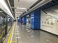 Guangzhou North Railway Station GZMTR Platform 2 2018 03.jpg