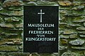 GuentherZ 2010-07-31 0024 Kollmitzdoerfl Klinger-Mausoleum Tafel.jpg